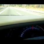 エスティマハイブリッドAHR20W 高速道路走行時のメーター(PloydBlackBox)