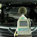 TOYOTA アイシス オイル添加剤による騒音変化を計測