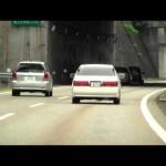 覆面パトカー 検挙の瞬間 測定から誘導まで クラウン覆面パトカー