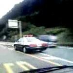 長野県警 クラウンパトカー緊急走行 速い!