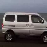 軽バン クロカン エブリージムニーJB23Japanease Mini BOX Japanese Mini Truck