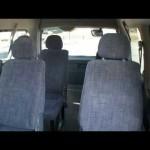 トヨタ ハイエースワゴン グランドキャビン 10人乗 内装、エンジン
