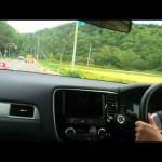 test-drive OUTLANDER PHEV「 アウトランダーPHEV一般道試乗動画」