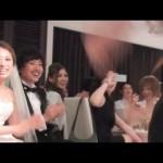 """フラッシュモブ サプライズ 披露宴 「What Makes You Beautiful」 One Direction   """"Flash Mob Surprise Wedding"""""""