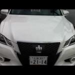 トヨタ 新型クラウン アスリート ホワイト 試乗車 New Toyota Crown Athlete