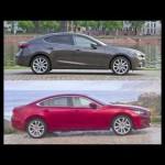 【徹底比較】マツダ 新型アクセラ HV vs. アテンザセダン   2014 Mazda3 hybrid vs. Mazda6 sedan