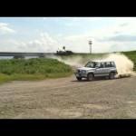 スズキ エスクードでドリフトしてみた! Suzuki Escudo SUV drift
