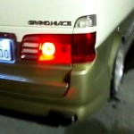 グランドハイエース 流れるウインカー リアブレーキ3連流れるブレーキ