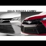 2015 Toyota Camry 新型カムリ【やはり大型グリル化】