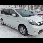 2013 トヨタ アイシス 特別仕様車 プラタナ V-SELECTION Blanc 内外装