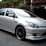 VIP Style Toyota Wish – Air Suspension Display 【トヨタ】