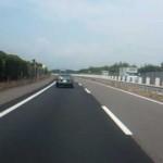 東北自動車道 スーパーカー集団フェラーリ・ランボルギーニ・・・