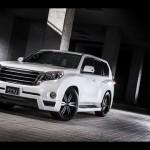 """ TOYOTA Land Cruiser Prado150"" ZEUS LUV-LINE Bodykit|ゼウス 新型トヨタ ランクル プラド150 エアロ"