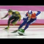 【面白い!】スピードスケートがマリオカートになった!