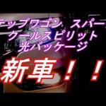 (新車)ステップワゴン スパーダZ クールスピリット 光パッケージ 紹介!