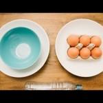 【ワロタ!思わず爆笑!目から鱗が落ちた!】卵の黄身と白身を超簡単に分ける方法!