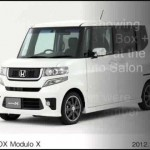 Honda will be showing CONCEPT 2013 N Box + Plus Modulo Style – New Model next gen redesign 【ホンダ】