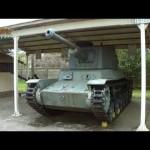 遺構探訪■三式中戦車チヌ(陸上自衛隊土浦駐屯地)