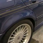 Alpina B10 3.3 (BMW E39) の板金塗装修理. 埼玉県からのご依頼|荒川区の和光自動車