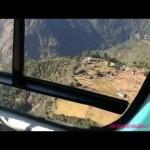 ルクラ空港 世界一離着陸の難しい空港TheMostDangerousAirportAroundTheWorldルクラ空港からヘリコプター再出発