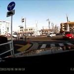 当て逃げ映像を被害者に提供しました|ドライブレコーダー スマートレコ