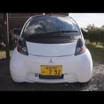 電気自動車が家にやってきた Mitsubishi i-MiEV  車載動画