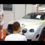 超高級車ベントレー カー ラッピング実演 #lovecars SISスペシャルインポートカーショープレミアム2014 輸入車ショー