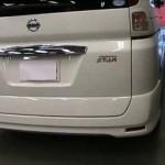 Nissan SERENA Highway STAR (C25) の板金塗装修理.荒川区のお客様|東京都の和光自動車