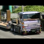 【デコトラ】江口自動車 スパグレ低床トレーラー