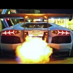 INSANE FLAMES! Lamborghini Aventador LP720-4 Ft. Liberty Walk/Armytrix/Airrex/Forgiato 【ランボルギーニ】