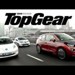 BMW i3 vs Nissan Leaf vs Renault Zoe: elektryczny test | TopGear 【BMW・日産・ルノー】