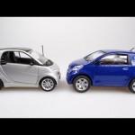 The Smart Fortwo vs the Toyota IQ【スマートフォーツー・トヨタアイキュー】