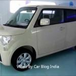 Maruti Suzuki MR Wagon At Auto Expo 2012 India – Future of Maruti Wagon R For India 【スズキ】