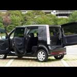 ダイハツ・ムーブ カスタムX:外装・インテリアの説明!最近の軽自動車はいいね! DAIHATSU MOVE CUSTOM X