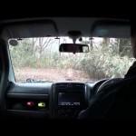 ジムニーシエラで行く山梨県の林道 越路線