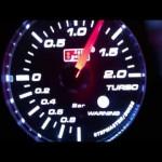 ekスポーツ R H81W ターボ ブースト圧1.3  ブースト計動き