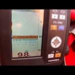 初めての魚群探知機  HONDEX  500C in 阿寒湖 (ワカサギ釣り)