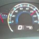 ワゴンRスティングレーMH23S-4WD(T)DレンジとMレンジ時のフル加速