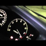 JZX100 CHASER チェイサー ツアラーV 加速  Acceleration of JZX100 最高速