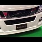 大阪オートメッセ2013 LEGANCE NV350 ハイエース出展 osaka auto messe2013 Hiace legance
