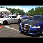 Audi RS6 Gorilla Racing vs CLS 63 AMG vs Gallardo TT Total Race vs 911 Turbo 【アウディ・ガヤルド】