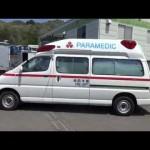 中古トラック 救急車 トヨタ グランビア パラメディック 4WD 4WS 外装