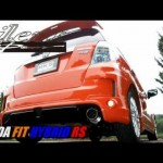 HONDA FIT HYBRID RS HKS Silent Hi-Power Muffler 32016-AH027 【ホンダ】