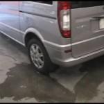 Benz V350 (W639) の板金塗装修理. 千葉県からのご依頼|荒川区の和光自動車
