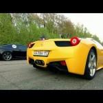 BMW M6 vs Ferrari 458 Italia vs Nissan GT-R AMS 【BMW・フェラーリ・日産】