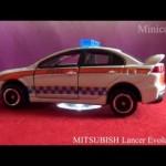 特注トミカ 三菱 ランサーエボリューションX 〈外国パトカータイプ〉