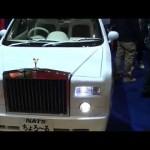軽自動車なロールスロイス!軽の維持費、燃費でロールスロイスに乗れます!ちょろーる オートサロン2015 動画