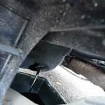 ハイゼットトラック4WDのエンジンオイル交換S110P