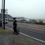 【オバマ先生】 鎌倉訪問車列 【シボレーサバーバン】