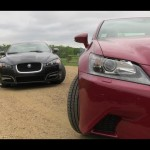 2013 Lexus GS350 vs Jaguar XF Mashup Review: And the best sport luxury sedan is…? 【レクサス・ジャガー】